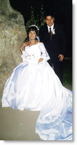 Foto matrimonial de Juan Ramos y Gloria Medina, propietarios de Peruenvideos.com