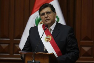 Alan García, presidente de la república - noticias
