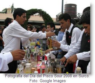 Bartenders en Día del Pisco en Surco