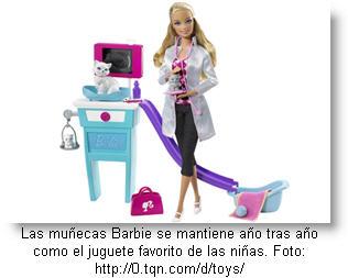 Muñeca Barbie en Plaza San Miguel