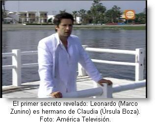 Leonardo es Marco Zunino final Al Fondo Hay Sitio