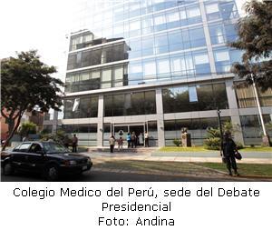 sede del Debate Presidencial