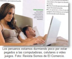 Informe de Revista Somos: Peruanos duermen menos de 6 horas al día.