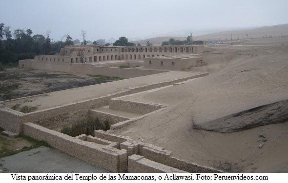 Foto panorámica del Templo de las Mamaconas.