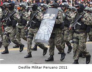 Desfile Militar del Perú