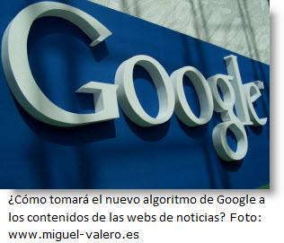 Foto logo de Google - Google busca calidad en contenidos.