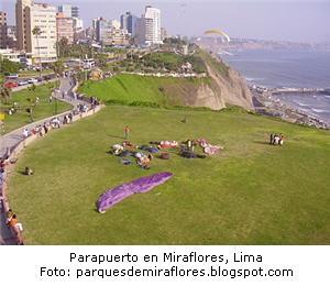 parapente en Miraflores
