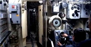 submarino interior