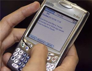 Mensaje de Texto que acaba con el crédito del celular