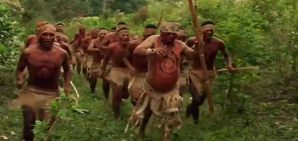 Escena de violencia en Reshinn - Sangre de Anaconda