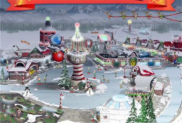 Aldea de Papa Noel visto de Google Eartth y Google Maps - noticias