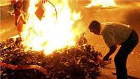 Navidad en Guatemala, la quema del diablo - noticias