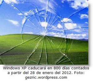 Actualiza a tu Windows XP a Windows 7 tienes solo 2 años para hacerlo.