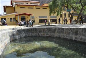 Baños termales de Churín, aguas medicinales - noticias