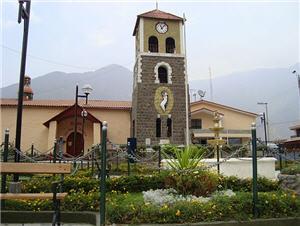 Iglesia Santa Rosa en Callahuanca, templo - noticias