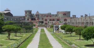 Foto panorámica del Castillo de Chancay al sur de Huacho