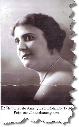 Consuelo Amat, castillo de Chancay - noticias