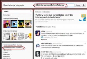 12 de marzo es el Dia Internacional de los Tuiteros en Twitter