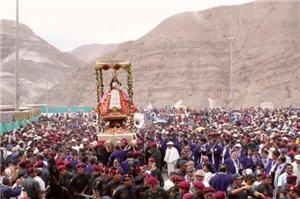 Virgen de Chapi, procesión en Arequipa - noticias