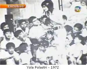 Yola Polastri, animadora infantil, conductora de television - noticias