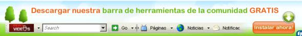 Descargar la barra de herramientas de web de noticias positivas, peruenvideos.com