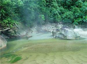 La Quebrada de Malquía, aguas termales, ucayali - noticias