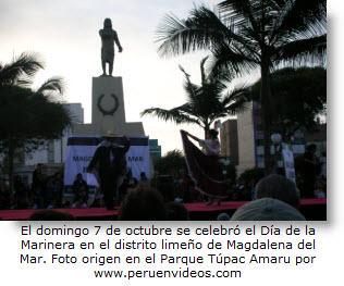 Festival de baile por el Día de la Marinera en Magdalena - Domingo 7 de octubre de 2012