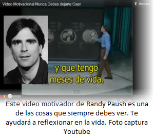 Video motivador para ser felices y exitosos en la vida - Randy Paush