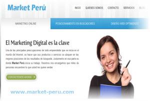 Posicionamiento web con el marketing digital de Market Perú