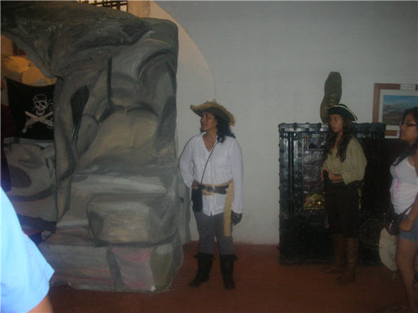 El pirata del Real Felipe cuenta con ayudantes en el 2013