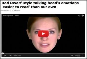 avatar zoe de toshiba la cabeza parlante