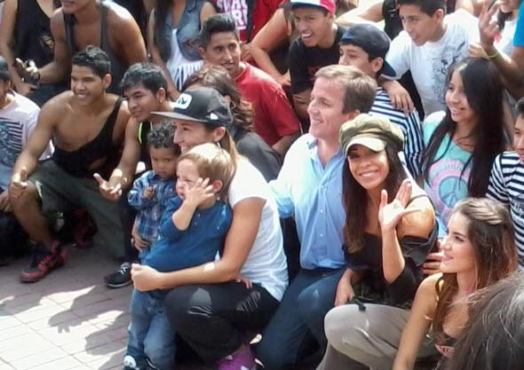 Foto de Tatiana Astengo en Parque Tupac Amaru de Magdalena