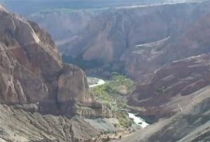 valle de Cotahuasi en el sur peruano