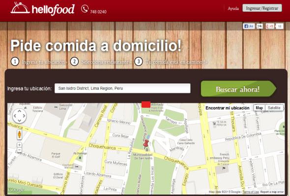 Hellofood llegó a Perú a mejorar el servicio delivery de los restaurantes limeños