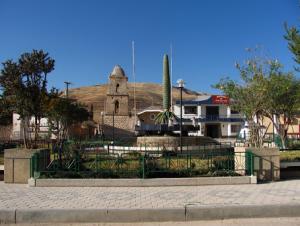 Imagen del pueblo de Canchayllo en el departamento de Junín