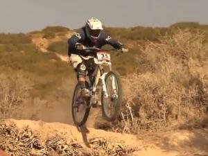 competencia de ciclismo en Huaraz