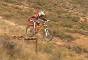 competencia de ciclismo en el valle del mantaro