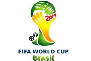 Logo del Mundial de Fútbol Brasil 2014