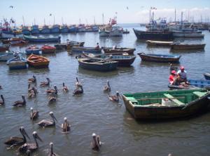 embarcadero pesquero en sechura