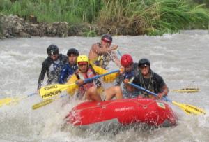 canotaje en el rio huaura