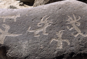 grabados de piedra en Miculla
