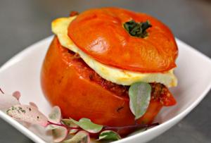 rocoto relleno, plato tradicional peruano