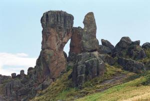 bosque de piedras en Huancavelica