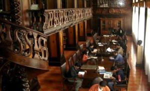 Lugar de lectura en el municipio de Lima