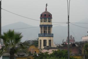 Mirador cerca a la Plaza de Acho en Rímac