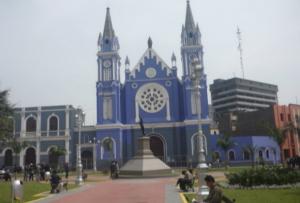 ex plaza La Recoleta en jirón Camaná