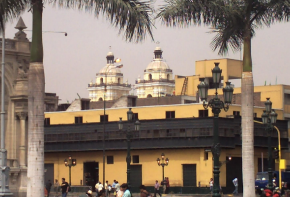 edificación antigua y colonial