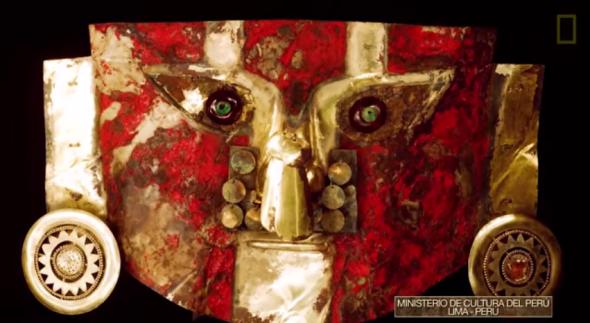máscaras de oro preinca