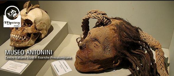 restos humanos de Cahuachi