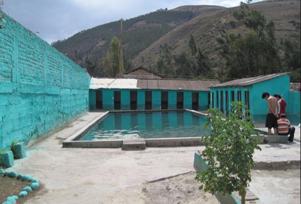 baños termales en Apurímac